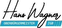 Hans Wagner – Ihr Oberbürgermeister Logo